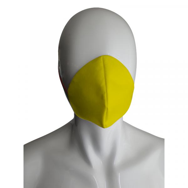 Mascherina antidroplet giallo bambino sanico