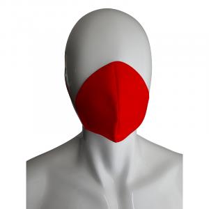 Mascherina antidroplet rosso bambino sanico
