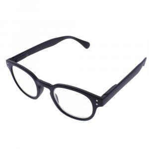 occhiali da lettura roma black lato
